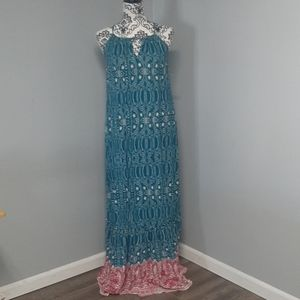 NWT Xhilaration Spring  Spaghetti Strap Maxi Dress